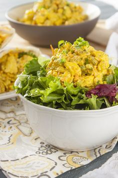 This Curry Chicken Salad is healthy, easy, and completley AWESOME!