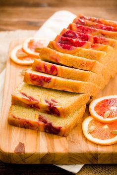 This blood orange and cardamom olive oil pound cake is overflowing with the rich spice of cardamom, sweet splashes of vanilla, and the tart pucker of blood oranges.  It's not just the flavor of this cake that wins tasters over, though; it's the texture.  Olive oil pound cakes are just as rich as their buttery peers, more moist, and don't leave you with the same heavy feeling.