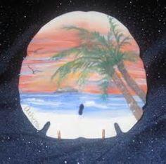 Risultato immagine per Athenas Art hand painted sand dollars Seashell Painting, Seashell Art, Seashell Crafts, Stone Painting, Painted Sand Dollars, Sand Dollar Art, Shell Drawing, Painted Christmas Ornaments, Diy Ornaments