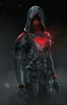 """"""" """" Red Hood by Bosslogic """" Oh hell yeah! Urban warfare outfit, this is what I expect the Red Hood to wear as a uniform. Also I hope he has the taser in his chest's bat symbol. Dc Comics Art, Marvel Dc Comics, Nightwing, Red Hood Wallpaper, Mode Cyberpunk, Hood Wallpapers, Red Hood Jason Todd, Batman Arkham Knight, Gotham Batman"""