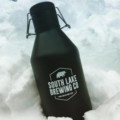 Perspektiiv Design Co. Branding for South Lake Brewing Company in South Lake Tahoe California. 2017 (Growler)