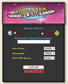 2014 Online MovieStarPlanet Hack Unlimited StarCoins Diamonds VIP | eBay