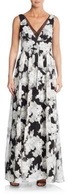 Floral Empire Gown
