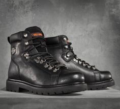 The perfect addition to your riding collection. | Harley-Davidson Dipstick Performance Boots