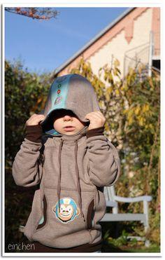 Doppelnaht: hoodie comet