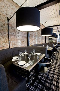 SJB | Projects - Public Bar and Dining- Slab dining chairs by Tom Dixon available through Property Furniture http://propertyfurniture.com/collection/chairs/slab-chair/