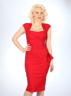 Uma Dress | Red