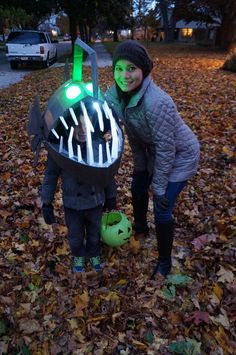 Such a cool 'out of the box' costume!
