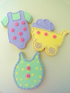Pink Little Cake: Pastel Baby Shower Cookies -TUTORIAL - make to match shower colors?