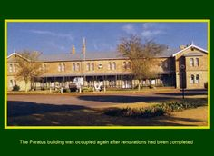 SADF.info The Paratus building was occupied again after renovations had been completed