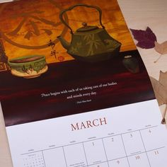 Our 2017 Thich Nhat Hanh Wall Calendar - Save 30% Off all 2017 Calendars Date Books & Weekly Planners right now at Brushdance.com! . . #thichnhathanh #thichnhathanhquotes #tnh #quotes #peace #takecare #loveyourself #health #healthyliving #healthylifestyle #lifstylechoice #peacefullife #meditation #yoga #prayer #balance #calendar #brushdance #mindfulliving #spreadpositivevibes #positivevibes #smallbusiness