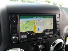 2011-2017 Jeep Wrangler GPS Garmin Navigation RHB 430N Radio