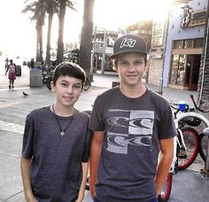 Jude and Connor the fosters