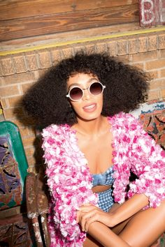 solange knowles asos shoot3 Solange Knowles Embraces Summer for ASOS June Cover Shoot