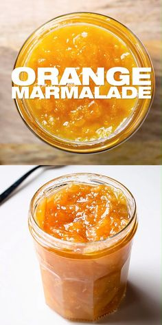 How To Make Orange Marmalade - Homemade Marmalade Jam Prepared With Fresh Oranges And Skin. Sweet Diy Marmalade For Your Breakfast Or Use In Other Dishes. Jelly Recipes, Dessert Recipes, Mini Desserts, Konservierung Von Lebensmitteln, How To Make Orange, How To Make Jelly, Marmalade Jam, Sugar Free Marmalade Recipe, Homemade Orange Marmalade Recipe