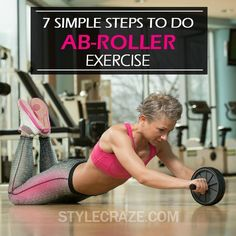 Want to achieve a strong core that would give you a strong back and a strong body? Have you ever tried ab roller exercises? Here are the 7 simple steps for you to check out Ab Wheel Workout, Ab Roller Workout, Reduce Belly Fat, Lose Belly Fat, Love Handles, Excercise, At Home Workouts, Fitness Tips, Strong Body