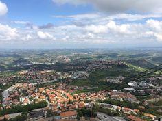 Sanmarino, vistas desde una de las torres