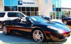 2008 Ferrari F430 Spider Convertible    Copyright © 2012 Brasspineapple Productions L.L.C. Jason Matthew Mahan