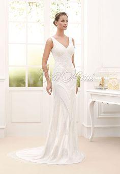 Vestido de novia Novia D´art colección 2016 modelo Calista en Eva Novias Madrid.