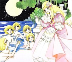 Manga Anime, Manga Art, Macoto Takahashi Art, Sailor Moon Wedding, Japanese Drawings, Anime Weapons, Mermaids And Mermen, Artwork Images, Vintage Paper Dolls