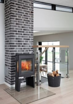 Aduro 13 Wood Burning Stove From Fireplace Products Wood Stove Hearth, Stove Fireplace, Modern Decor, Modern Design, Modern Stoves, Multi Fuel Stove, Cast Iron Stove, Ovens, Furniture