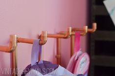 Vintage Revivals | DIY Copper Pipe Wall Coat Rack Tutorial