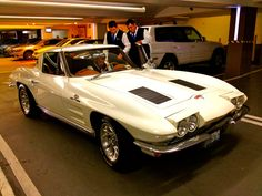 Garage Queens: Chevy Corvette Split Window Coupe - Soho House, LA