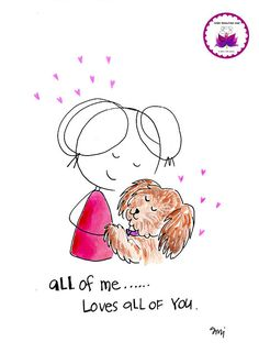 all of me loves all of you. 30 days of love BLOG. Inspiration, beauty, kindness, support and soul encouragement in cartoon…