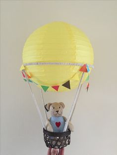 Hot Air Balloon themed Christening.