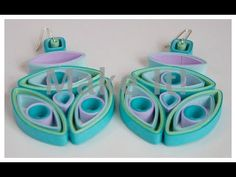 Little Circles - Third Eye Earring Tutorial - Modern day quilling website for inspiration, products and learning. Paper Quilling Tutorial, Quilling Paper Craft, Paper Crafts, Quilling Instructions, Diy Paper, Bead Crafts, Paper Art, Quilling Videos, Quilling Techniques