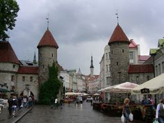 Old City, Tallin, Estonia