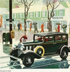Chevrolet Special Sedan 1932 - Mad Men Art: The 1891-1970 Vintage Advertisement Art Collection