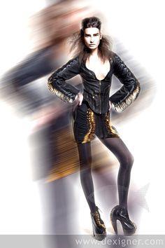 Iris van Herpen & Unitied Nude www.fashion.net