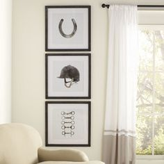 Heritage 'Blossom Sketch' 4 Piece Framed Graphic Art Set on Glass Equestrian Framed Print Collection - Art Of Equitation Equestrian Bedroom, Equestrian Decor, Equestrian Style, Equestrian Fashion, Bedroom Decor, Wall Decor, Wall Art, Pub Decor, Equestrian Collections