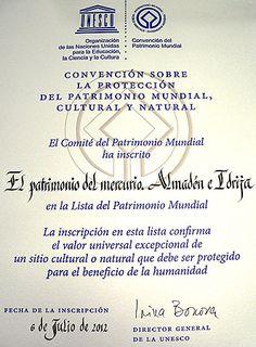 Parque Minero,  Patrimonio de la Humanidad