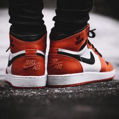 new style 54551 aa2e9 Nike Air Jordan 1 Retro High Rare Air - Max Orange - 2017 (by solebox