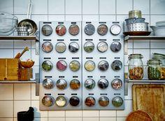 Maar dan aan de binnenkant van keukenkastjes