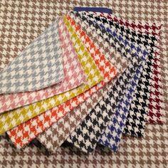 Danza, la revisió d'un clàssic amb una estudiada carts de colors. #potadegall #tapisseria #ontariofabrics #teixit
