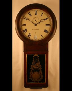 Seth Thomas Regulator No. 2 Wall Clock Circa 1850