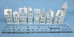 Karin Corbin Miniatures, miniature paper house kits  buy them at my Etsy store