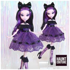 """693 Likes, 6 Comments - Haunt Couture (@hauntcoutureatelier) on Instagram: """"Super cute new lace dress with matching socks limited to only 5 and now for sale on our Etsy at…"""""""