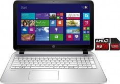 HP Pavilion 15-p161ng Notebook, AMD A8, 39,6 cm (15,6 Zoll), 500 GB Speicher, 8192 MB DDR3L-SDRAM