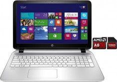 HP Pavilion 15-p161ng Notebook, AMD A8, 39,6 cm (15,6 Zoll), 500 GB Speicher, 8192 MB DDR3L-SDRAM