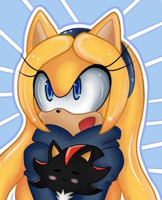 AT Maria the hedgehog by Itani-Montero on DeviantArt Maria The Hedgehog, Shadow The Hedgehog, Sonic The Hedgehog, Sonic Fan Characters, Female Characters, Fictional Characters, Shadow And Maria, Sonamy Comic, Sonic Heroes
