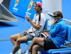 Australian Open 2015: Rafael Nadal practice session [PHOTOS] | Rafael Nadal Fans