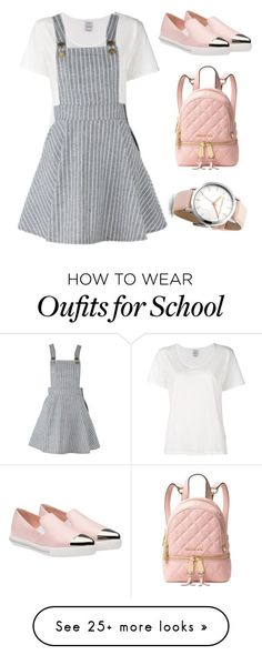 """Back to school"" by potterqueen on Polyvore featuring Visvim, Miu Miu and Michael Kors"