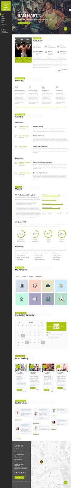 Cascadia  AgencyPersonal Portfolio Html Template  Portfolio