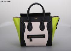 SAC CELINE LUGGAGE MINI PINK / NOIR / VERT 1.Marque  : celine 2.Style  : celine Luggage Mini 3.couleurs : Pink / Noir / Vert 4.Matériel : Importer en cuir d'origine  5.Taille: W30 x H15 x D30 cm Celine Luggage, Luggage Bags, Tote Handbags, Mini, Purses And Bags, Clutches, Totes, Style, Celine Bag