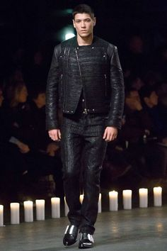 Manuel Vera - Givenchy Fall 2013 Menswear by Riccardo Tisci...