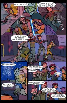 SWR Comic»» Don't worry Ezra you're just dreaming. Lol<<< you know if you squint just right...